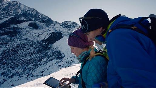 iPad Mountain Navigation