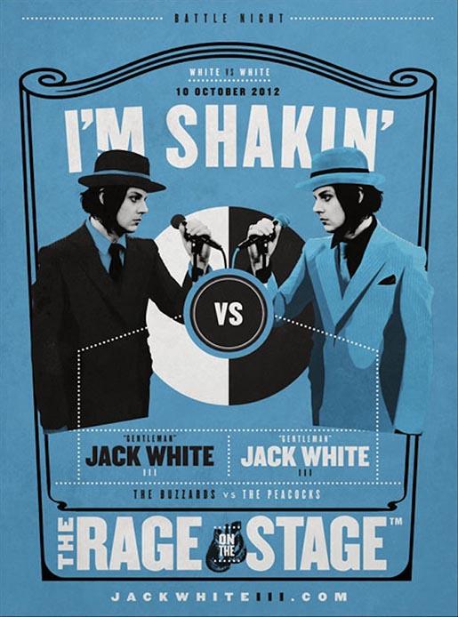 Jack White I'm Shakin' Poster